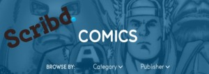 Comics On Your Digital Bookshelf: Scribd is Not the App it Could Be