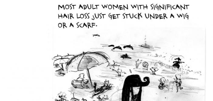 Sara Lautman's comic Some Notes on Compulsive Hair Pulling, Jezebel.com