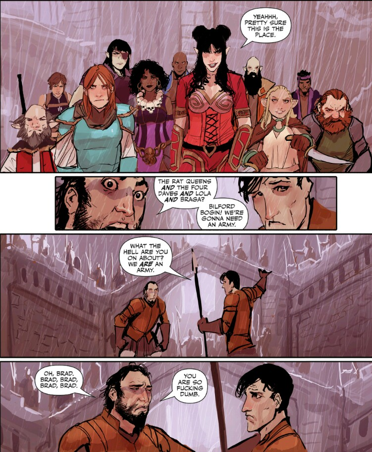 Rat Queens #9: The Far Reaching Tentacles of N'Rygoth - Part 4