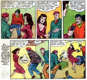 Pete Trask, T-Man, issue 5, Reed Crandall, digital comics museum, Quality Comics, 1951