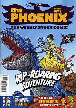 Pirates of Pangaea, first issue of the Phoenix, Neill Cameron & Daniel Hartwell, 2014