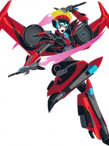 Windblade's  appearance in the 2015 Robots in Disguise cartoon.