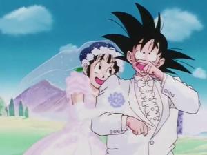 Goku & Chi Chi, Dragon Ball anime, OLM & Toriyama