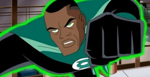 John Stewart as DC's Green Lantern in Justice League