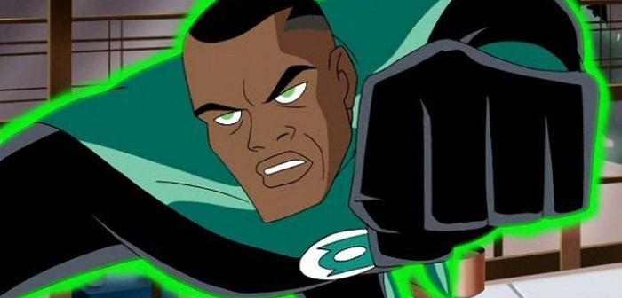 John Stewart as DC's Green Lantern in Justice League