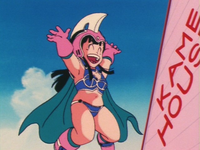Chi Chi, Dragon Ball anime, OLM & Toriyama