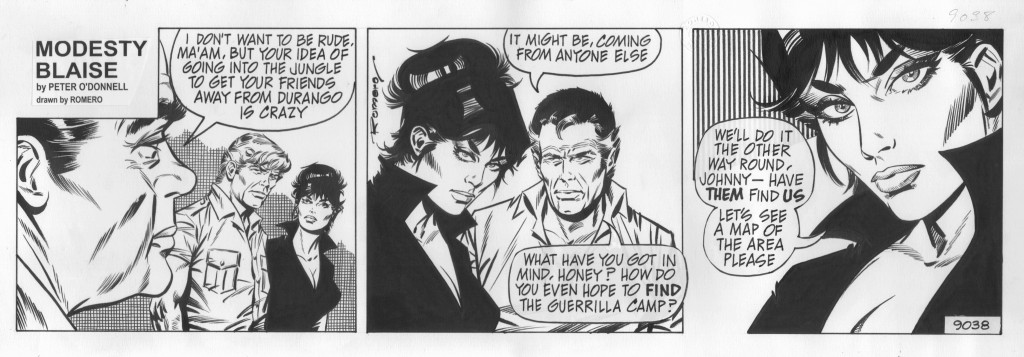 Modesty Blaise #9038 by Peter O'Donnell and Jim Holdaway