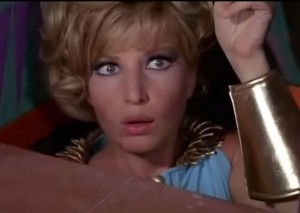 Modesty Blaise (1966) Director: Joseph Losey Writers: Evan Jones (screenplay), Peter O'Donnell (comic strip), Stars: Monica Vitti, Terence Stamp, Dirk Bogarde