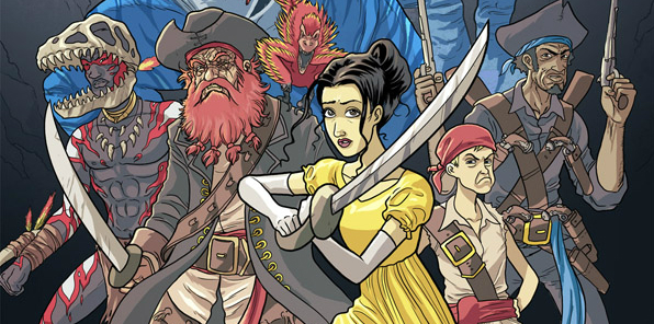 Pirates of Pangaea, David Fickling books after the Phoenix, Neill Cameron & Daniel Hartwell, 2014