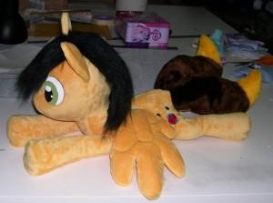 Pony plush beanie