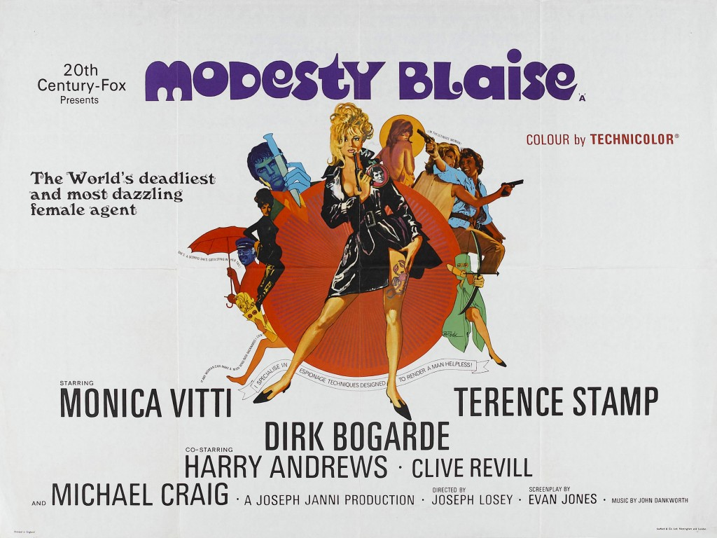 """No one can phase Modesty Blaise"""