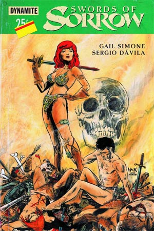 Swords of Sorrow #1 cover by Robert Hack, Dynamite 2015