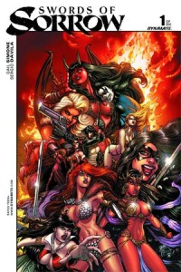 Swords of Sorrow #1 cover by Joyce Chin, Dynamite 2015