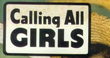 stock: Calling All Girls, Parents' Magazine Publication Office, June-July 1945, digital comics museum
