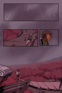 The Last Cowboy by Zoe Coughlin webcomic