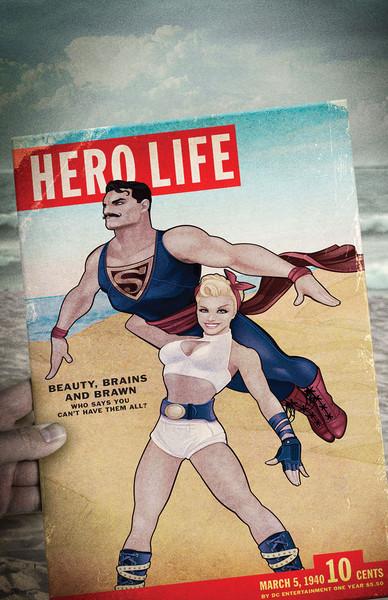 Action Comics #43, Ant Lucia, DC Comics 2015