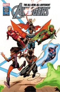 All-New, All-Different Avengers. The Uncanny Inhumans. Marvel Comics. 2015. FCBD. Free Comic Book Day. Comics.