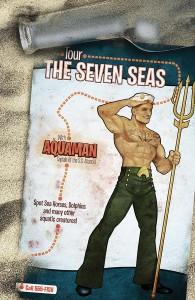 Aquaman #43, Ant Lucia, DC Comics, 2015