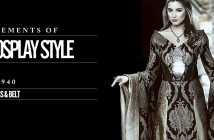 Elements of Cosplay Style gown