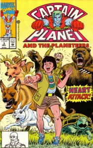 Captain Planet and the Planeteers, Issue #3, Marvel, December 1, 1991
