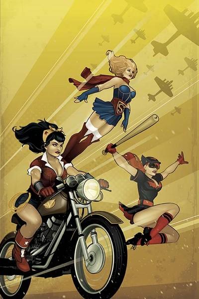 DC Bombshells #1 DC Comics Ant Lucia 2015