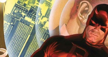 Daredevil #1 Alex Ross variant cover, Marvel Comics 75th Anniversary. Marvel Comics, 2014.