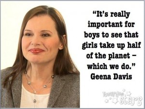 Geena Davis Toward The Stars.com