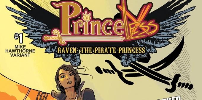 Raven: Pirate Princess Cover 1