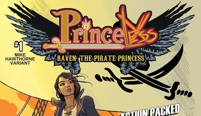 More Princeless Power with Raven: The Pirate Princess