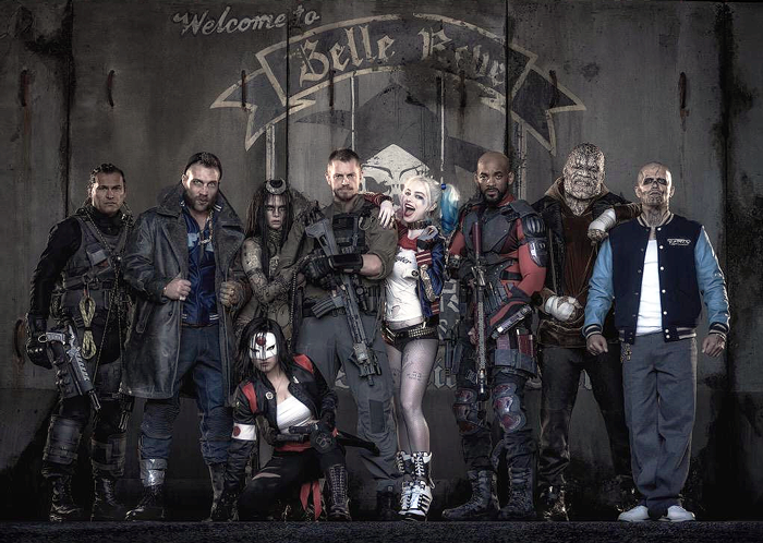 Our First Official Look at the Suicide Squad!