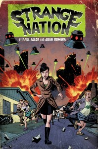 Strange Nation Trade  coming from IDW in August