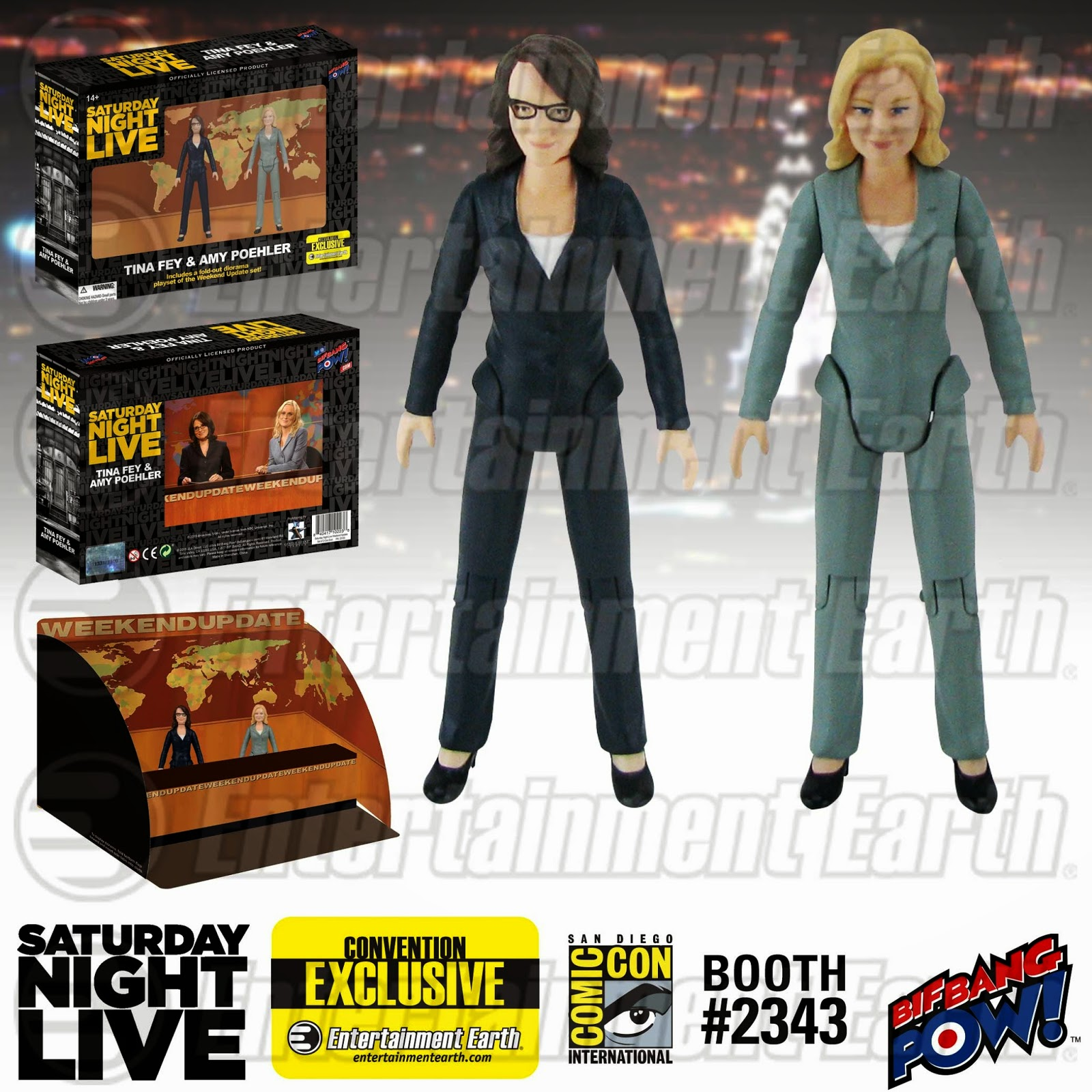 Tina Fey and Amy Poehler Action Figures On Their Way to SDCC