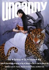 Uncanny Magazine Volume 4  Artist: Tran Nguyen