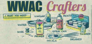 WWAC Crafters: Oiled Up: Guzoline Fan-Painting