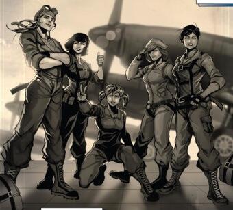 Banshee Squadron, Captain Marvel, Kelly Sue DeConnick, Dexter Soy, Marvel