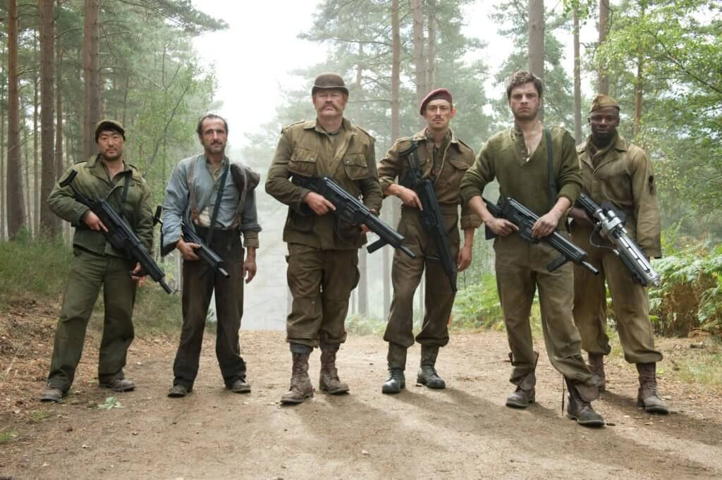 Howling Commandos in Captain America: The First Avenger