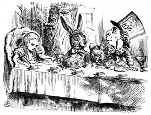 Alice in Wonderland by Lewis Carrol, art by Sir John Tenniel