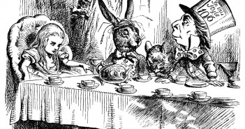 Alice in Wonderland by Lewis Carrol, art by Sir John Tenniel