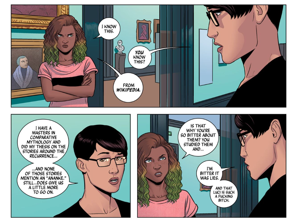 Gillen & McKelvie, The Wicked + The Divine #2