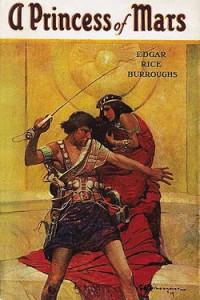 A Princess of Mars (Barsoom #1) by Edgar Rice Burroughs (1917)