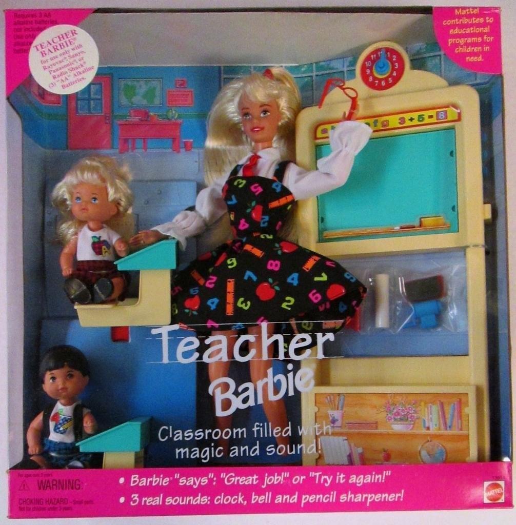 Teacher Barbie, Mattel, 1995