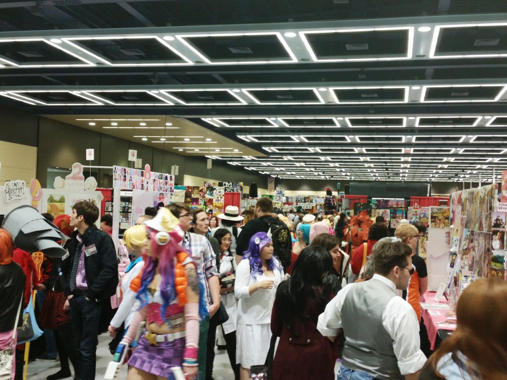 Artist Alley at Sakura-Con 2015, Seattle WA.