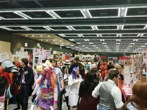 Artist Alley at Sakura-Con 2015, Seattle WA.