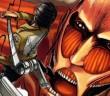 Attack on Titan volume 1 cover. Story & Art by Hajime Isayama. Kodansha, 2012.