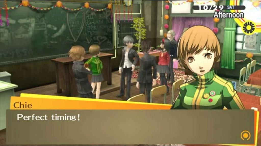 Persona 4 Screenshot