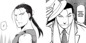 Daryun from Heroic Legend of Arslan vs Kimblee from Fullmetal Alchemist.