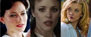 "Recent faces of Irene: Lara Pulver (""Sherlock"" 2012); Rachel McAdams (""Sherlock Holmes"" 2009); Natalie Dormer (""Elementary"" 2013)"