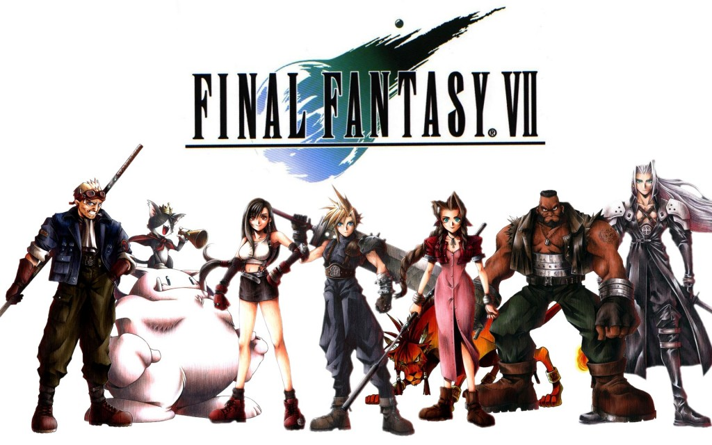 Final Fantasy VII. Square (Square Enix) 1997.