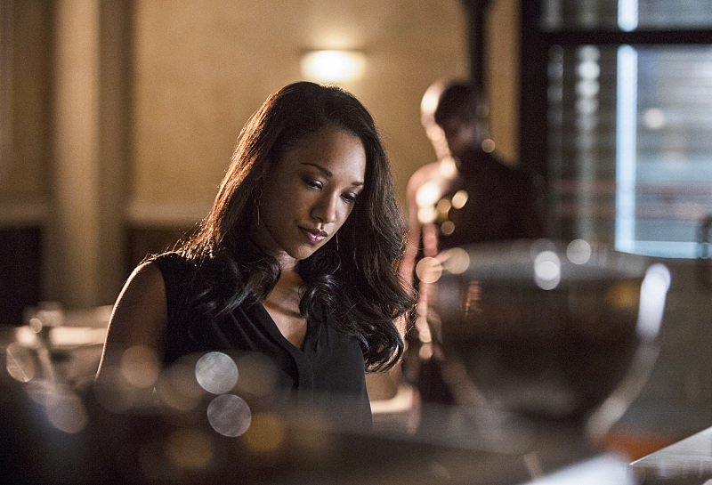 "Iris West. Candice Patton. The Flash. ""Plastique"". Photo by Cate Cameron 2014. The CW Network."