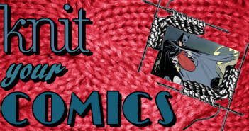 Knit Your Comics Banner, comic by Rachael Anderson
